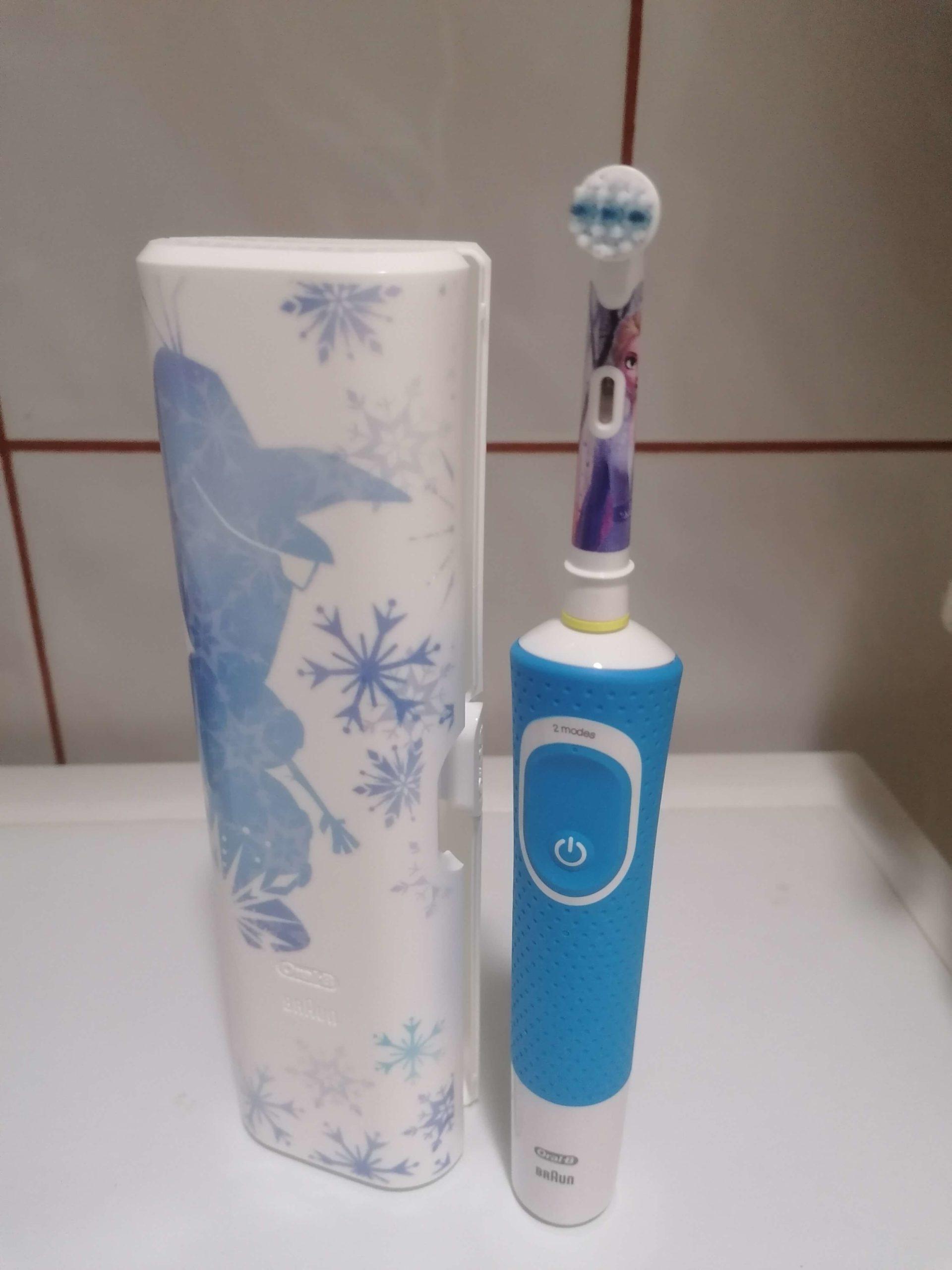 szczoteczka elektryczna oral-b dla dzieci